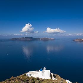 The Santorini Caldera by Vasilis Tsikkinis (Vasilis_Tsikkinis) on 500px.com
