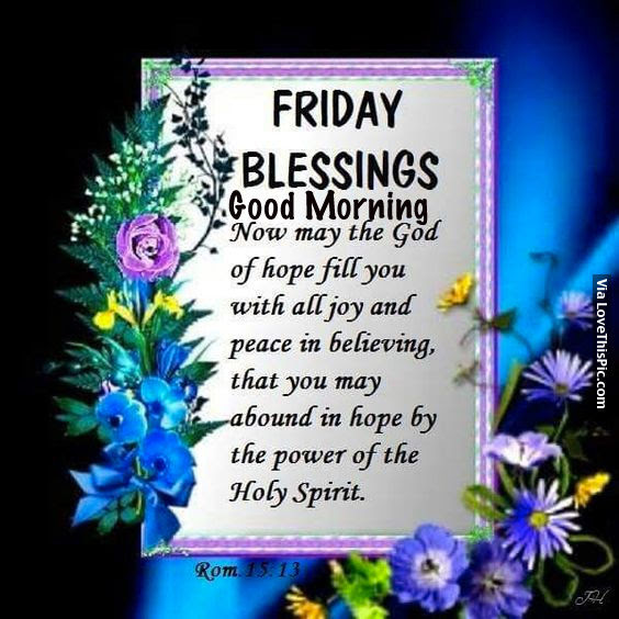 Good Morning Friday Blessings Images And Quotes Friday Blessing