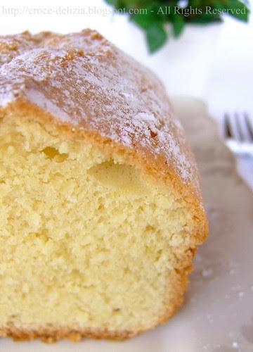 Cake al profumo di limone