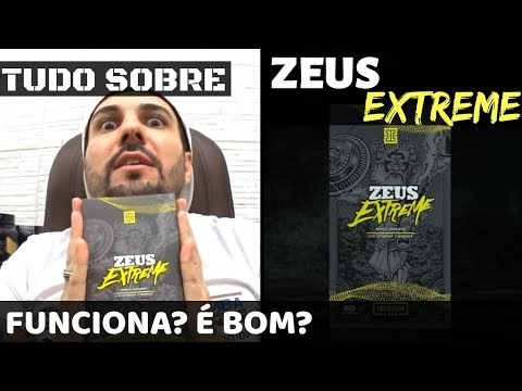 Zeus Extreme - Ganhe Músculos e Definição Corporal. Saiba TUDO. E bom? Funciona? Presta? Como tomar?