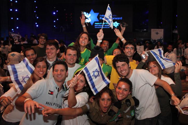 Des jeunes du programme Taglit – Crédit photo : Marc Israel Sellem/Flash90
