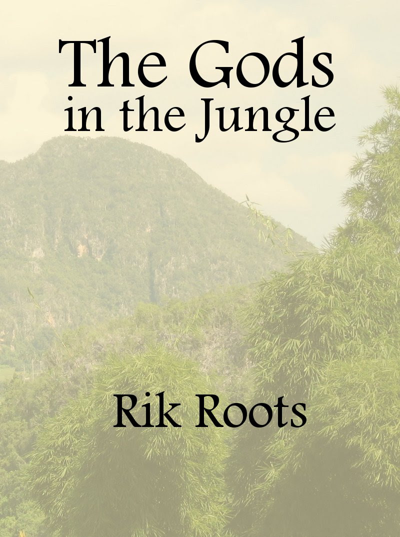 Cover for The Gods in the Jungle book