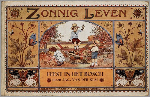 Feest in het bosch, story by Jac. van der Klei, illustrated by D. Viel, 1927