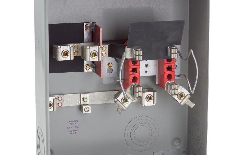 Milbank Meter Socket Wiring Diagram
