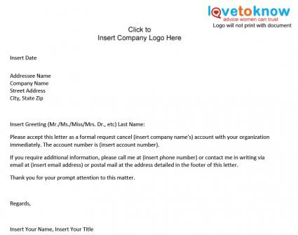 How To Write A Life Insurance Cancellation Letter With ...