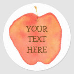 Personalized Apple sticker