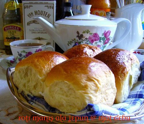 Roti Manis Ala Jepun