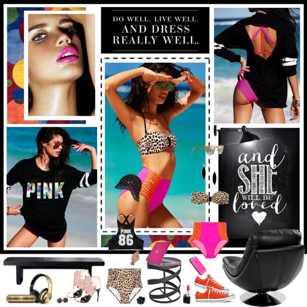 2015 VS Pink Swim: Sara Sampaio