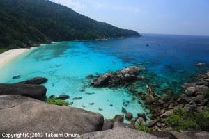 Sail Rock Island number eight similan Islands