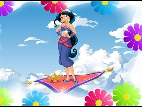 Disney Princess Jasmine and Magic Carpet   Princess Games