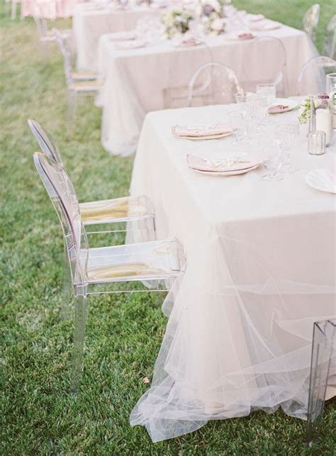 10  images about DIY Tulle Wedding Decorations on