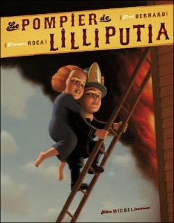 Couverture Le pompier de Lilliputia