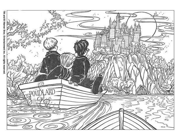 Adult Coloring Pages Harry Potter | Coloring Pages 2019