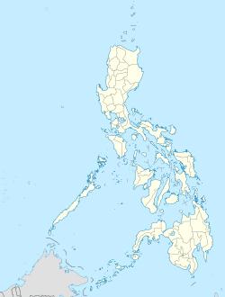 Manila trên bản đồ Philippines