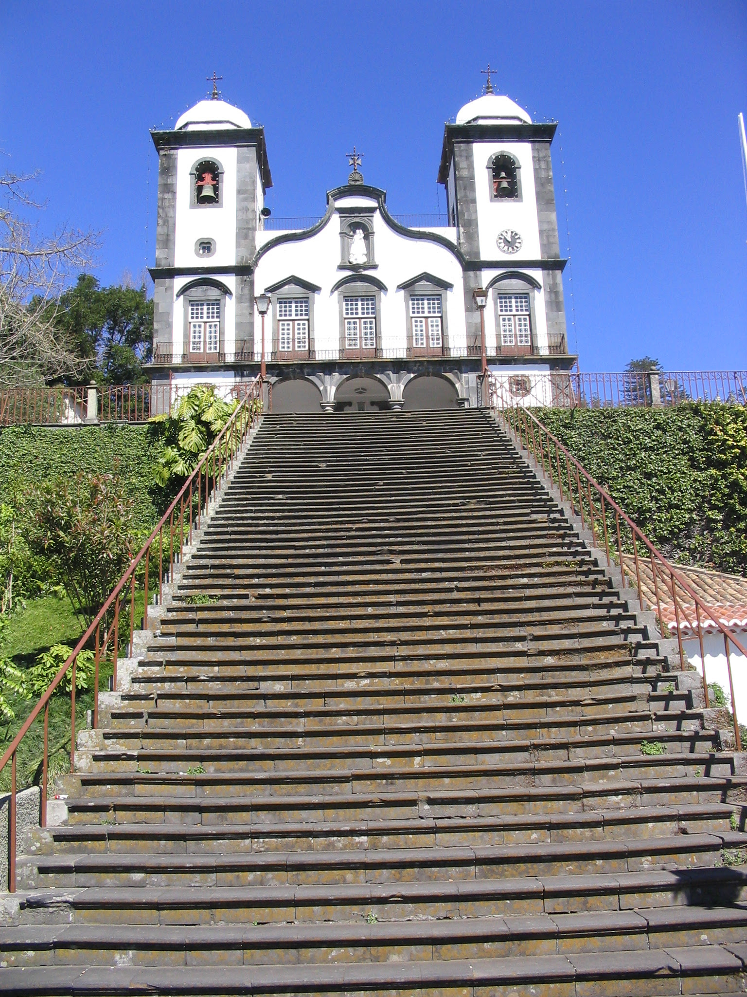 The church of the tomb of Blessed Charles in Monte, Madeira