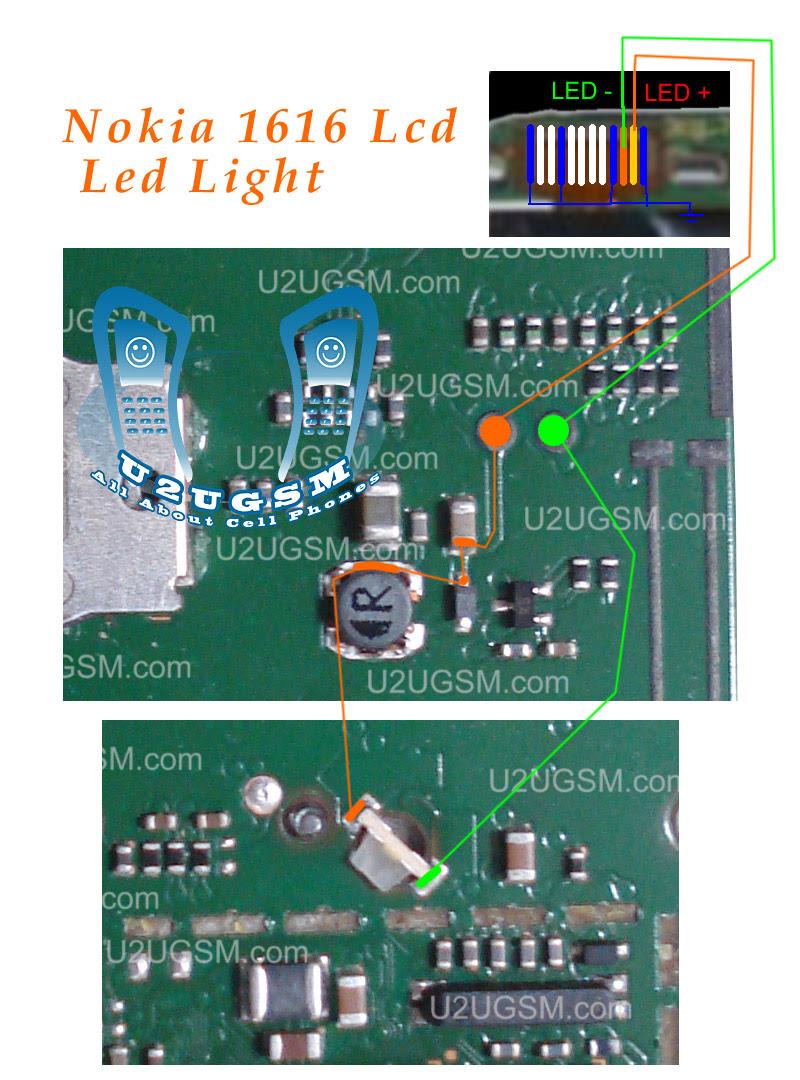Nokia 1616 light solution
