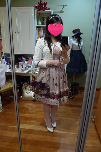 Outfit Snap: IW Bertille Rose JSK in non-loli coordinate