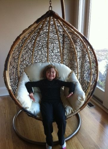 The Trully Outdoor Wicker Swing Chair