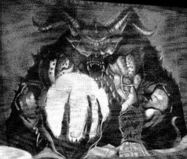 Demonic darwing 2
