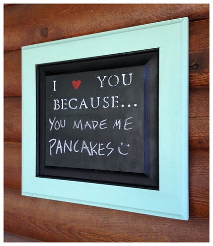 Pancakes sign