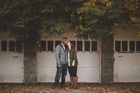 Eaton Hall Seneca King Campus Engagement Photo Session