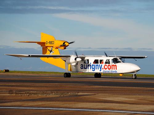 G-RBCI Britten-Norman BN-2A Mk.III-2 Trislander by Jersey Airport Photography