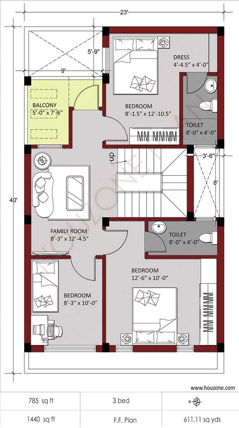 simple house floor plans houzone