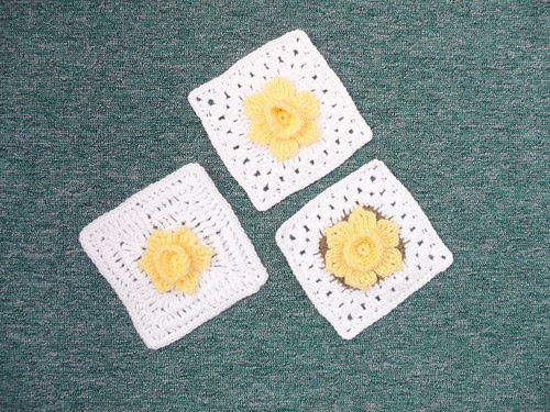 Marje (UK) The final 3 Daffodil Squares have arrived. Thank you!