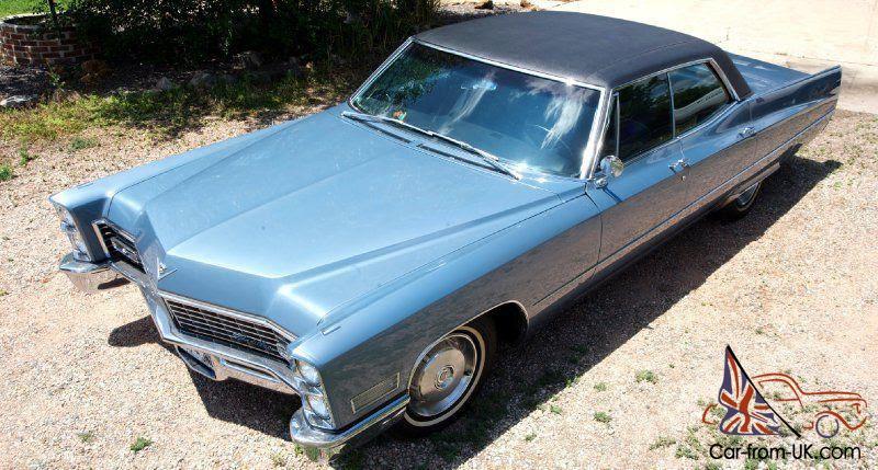 67 Cadillac DeVille Sedan