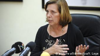 La directora general para Estados Unidos de la Cancillería cubana, Josefina Vidal