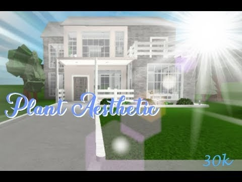 Aesthetic Two Story House Family Bloxburg Mansion Roblox Promo