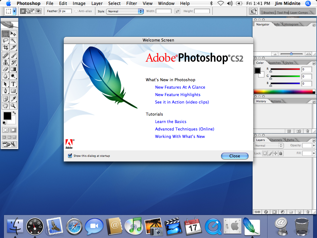 adobe photoshop cs2 free download for mac