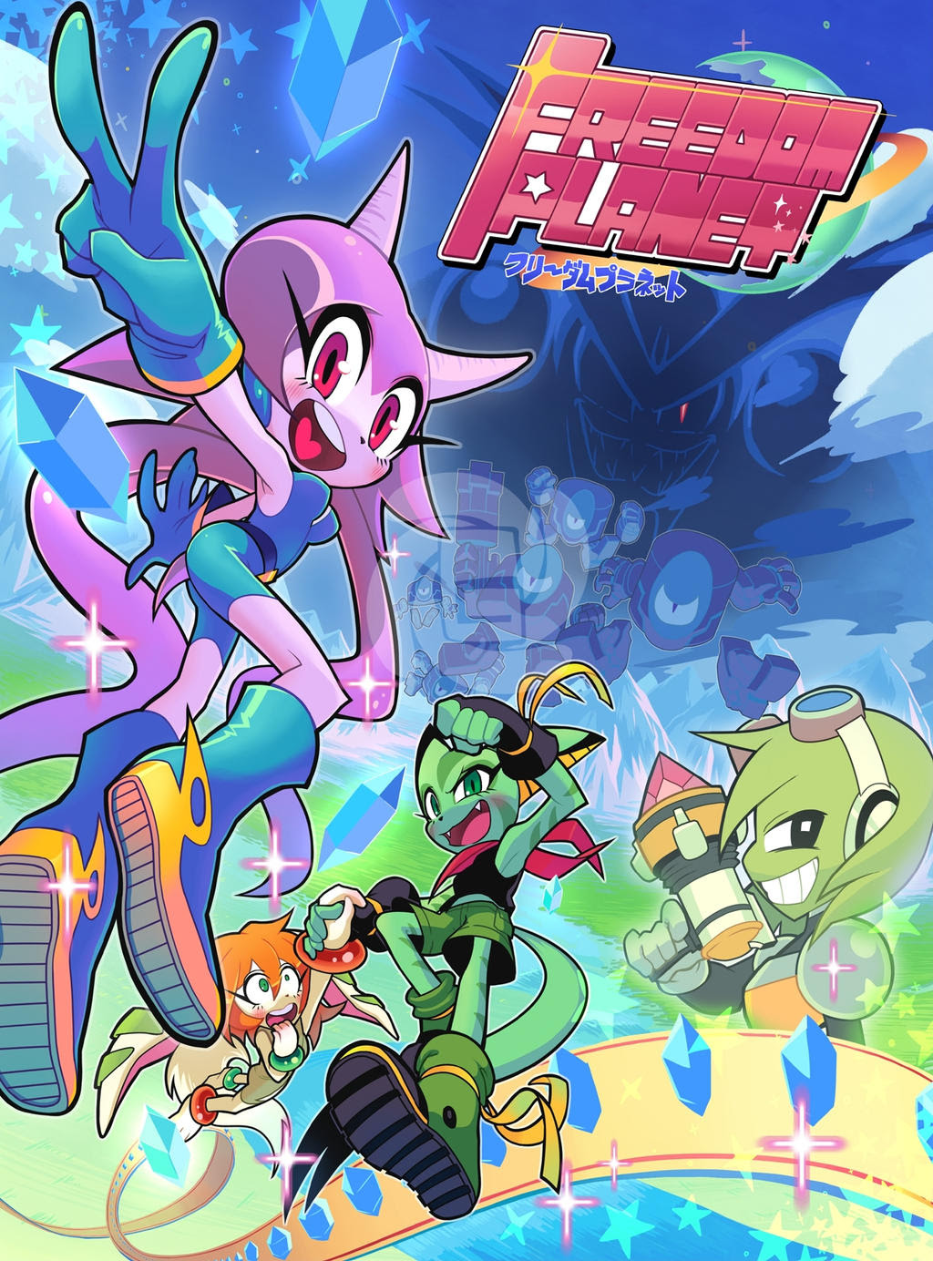 Freedom Planet Game