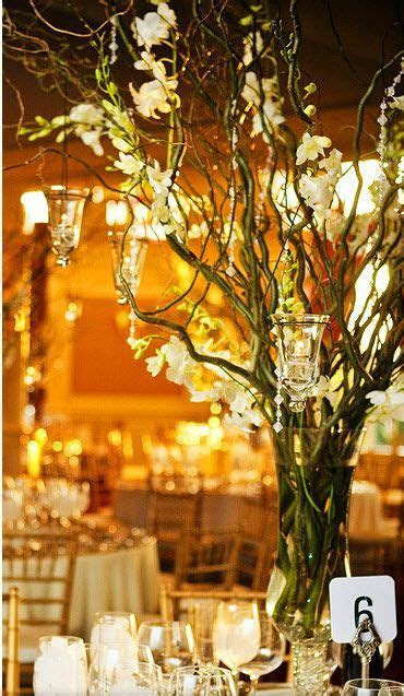 25  best ideas about Curly willow centerpieces on