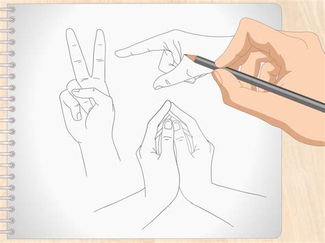 draw anime hands  steps  pictures wikihow