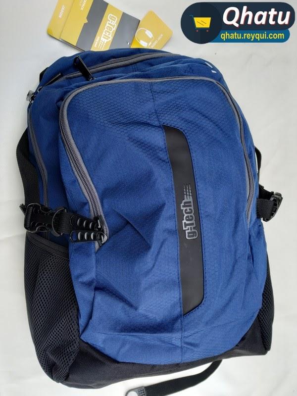 (Bs. 165) Mochila g-Tech (Porta laptop y entrada para audífonos)