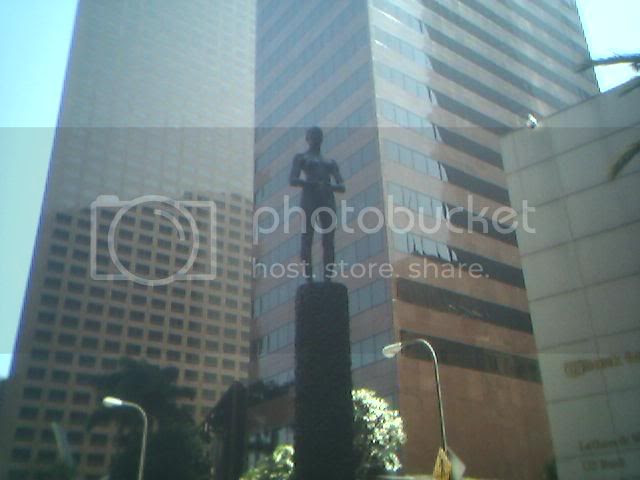Anatomically correct statue in Bunker Hill