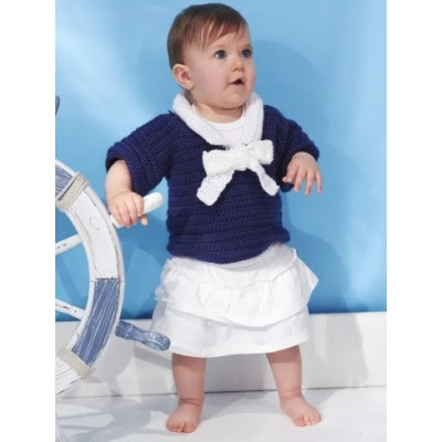 Nautical Toddler's Top