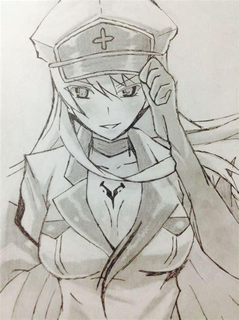 esdeath  akame ga kill anime akame ga kill
