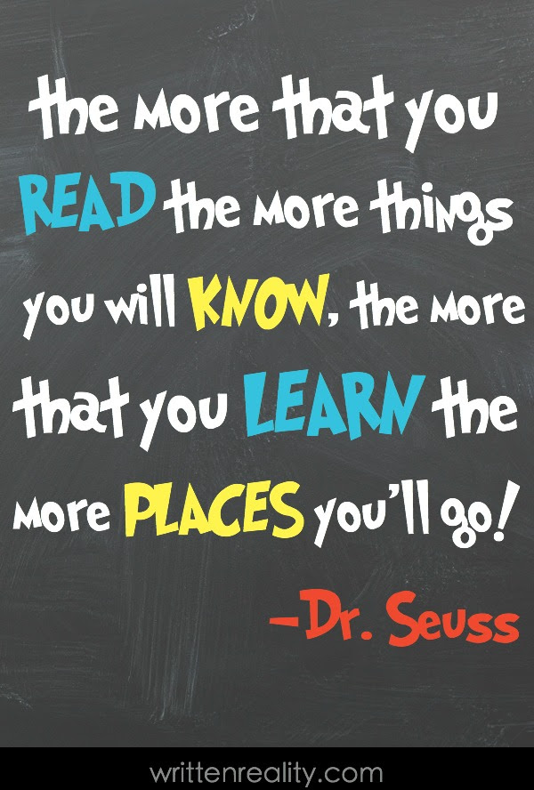 Dr. Seuss Quotes For Kids - Written Reality