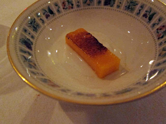 brûléed mango