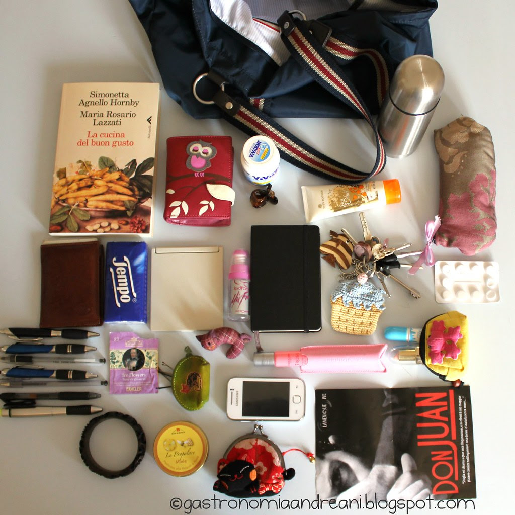 What's in my bag? (www.zeldawasawriter.com)