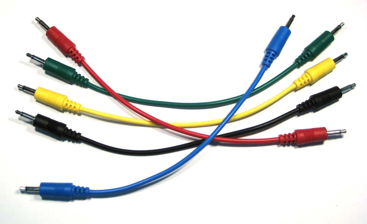 AD INFINITUM  Synthesizer Solid Color Patch Cables