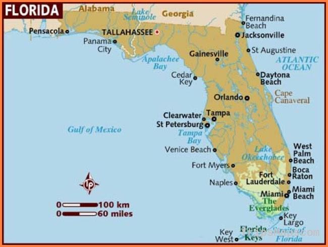 palm beach map of aruba