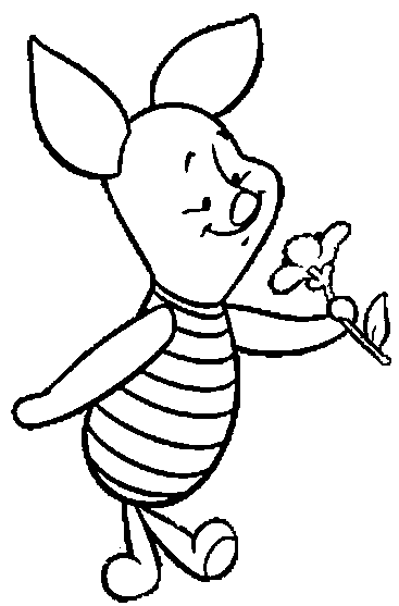 Cute Baby Piglet Coloring Pages Coloring And Drawing