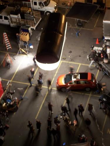 CU - car commercial night shoot