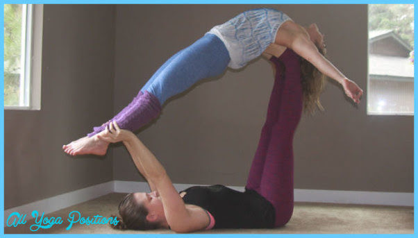 Hard Yoga Poses For Two Abc News