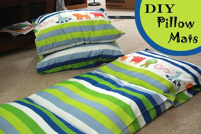 Runs With Spatulas: Crafty Fridays: DIY Pillow Mats