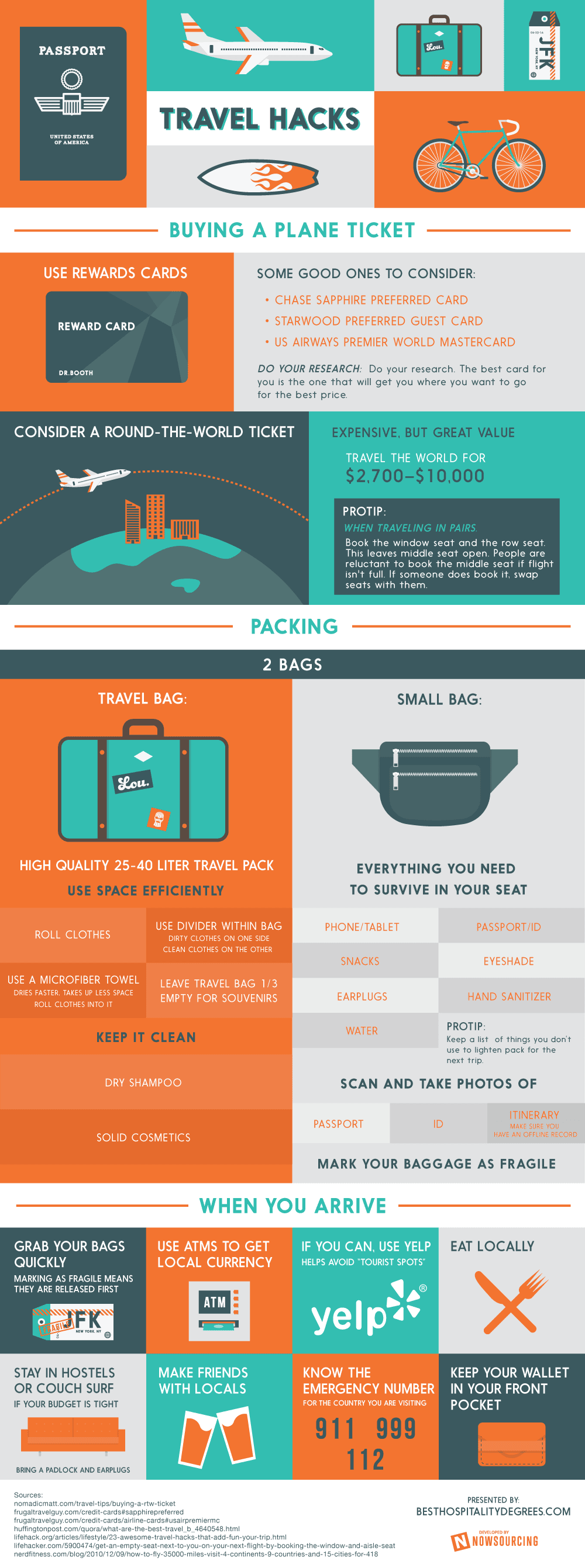 Infographic: Travel Hacks