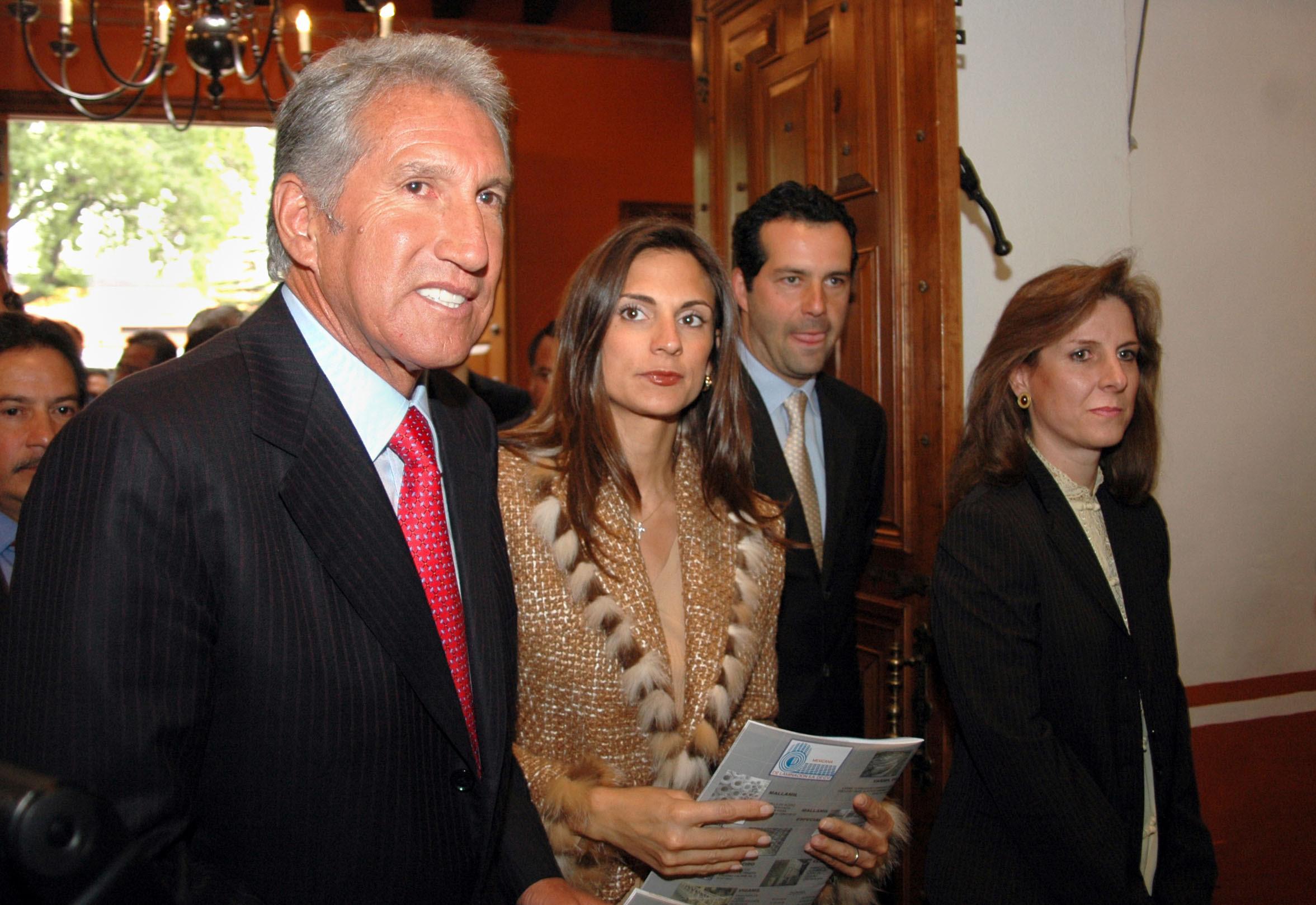 Montiel y Versini en febrero de 2005. Foto: Eduardo Miranda.